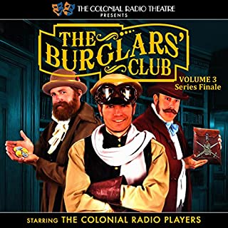 The Burglars' Club, Vol. 3 cover art