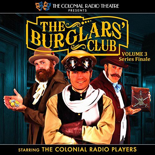 The Burglars' Club, Vol. 3 audiobook cover art