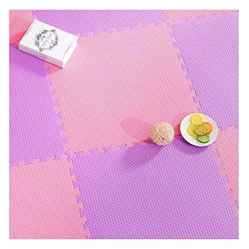 Best Deals! ZWYGXL Interlocking Carpet Tiles Infant Crawling Mat Splice Large Area Children's Room G...