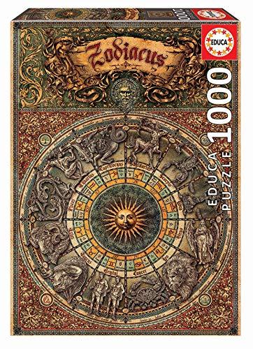 Educa - Zodiaco Puzle, 1 000 Piezas, Multicolor (17996)