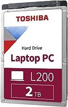 """Toshiba HDWL120XZSTA L200 2TB Laptop PC Internal Hard Drive 5400 RPM SATA 6Gb/s 128 MB Cache 2.5"""" 9.5mm Height - 2000 Inte..."""