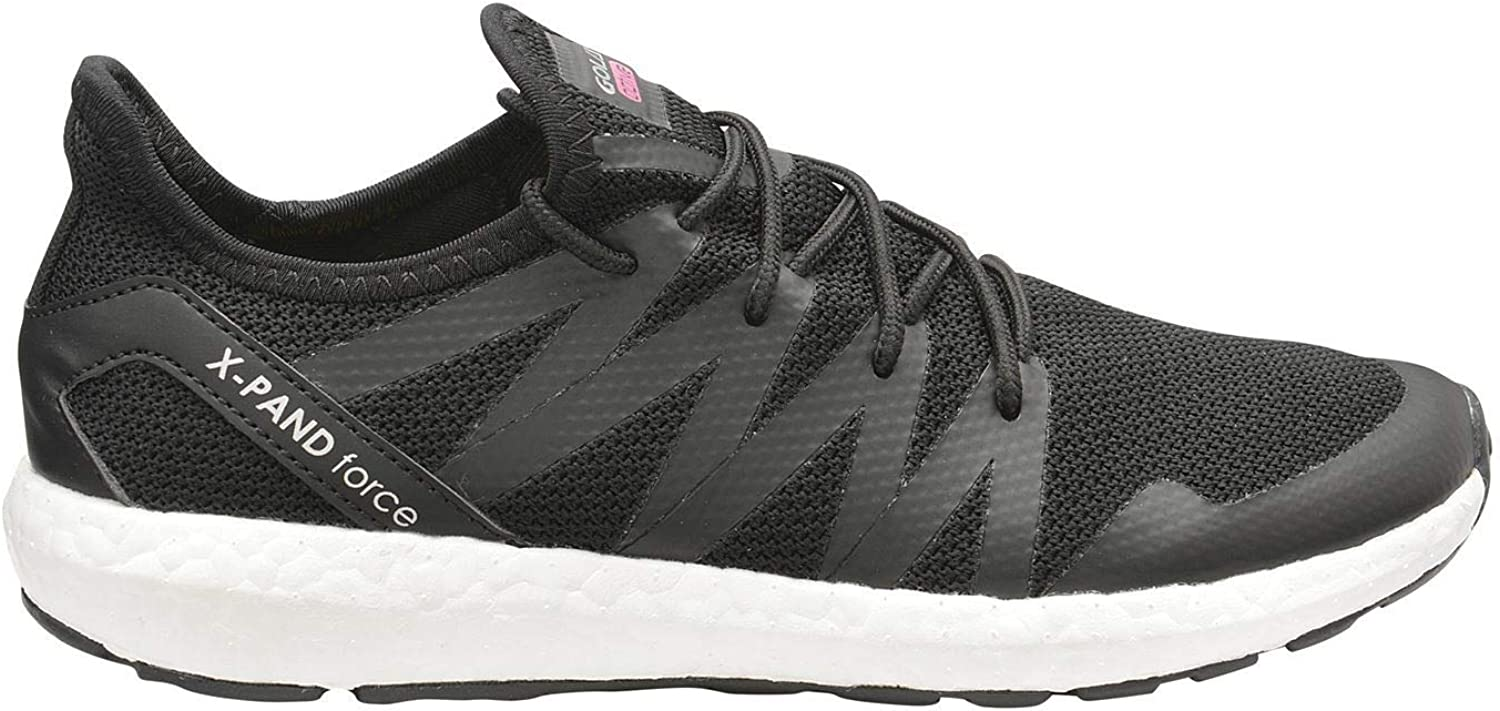 Gola X Pand Force Running shoes Womens Black Pink Fitness Trainers Sneakers