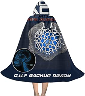 QINWEILU Cortical Stack Owners Manual Altered Carbon Unisex Kids Hooded Cloak Cape Halloween Party Decoration Role Cosplay Costumes Outwear