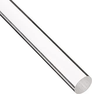 "Nylon 6//6 Round Rod Extruded Nominal 48/"" Length x 1-1//2/"" Diameter Natural"