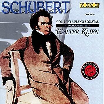Schubert: Complete Piano Sonatas, Vol. 2