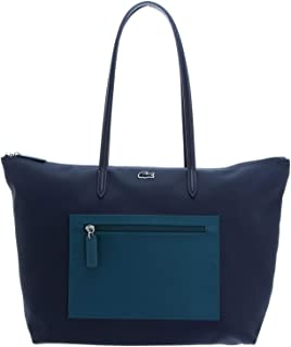 Lacoste - Shopping Bag -Peacoat Blue Coral