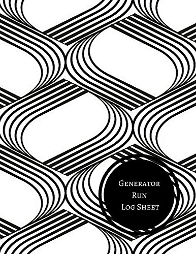 Generator Run Log Sheet: Generator Maintenance Log