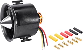 uxcell 70mm 12 Blades EDF Ducted Fan with 2600KV RC Brushless Motor for RC Airplane
