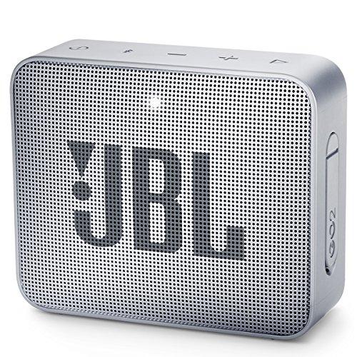 JBL GO2GRYAM GO2 – Altavoz Bluetooth Impermeable y portátil, Color Gris