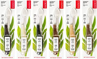 Radius Source Toothbrush, Soft, Assorted Colors - 1 Each