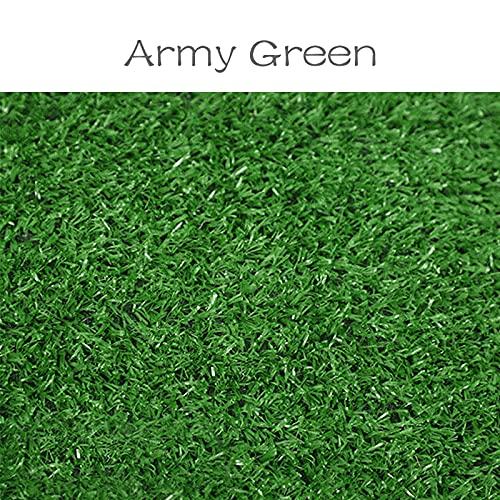 YiXing Kunstrasen, PP-Matte, grüner Rasenteppich, zum Basteln, für den Außenbereich, für Zuhause, Hochzeit, Schule, Boden (Farbe: 04)