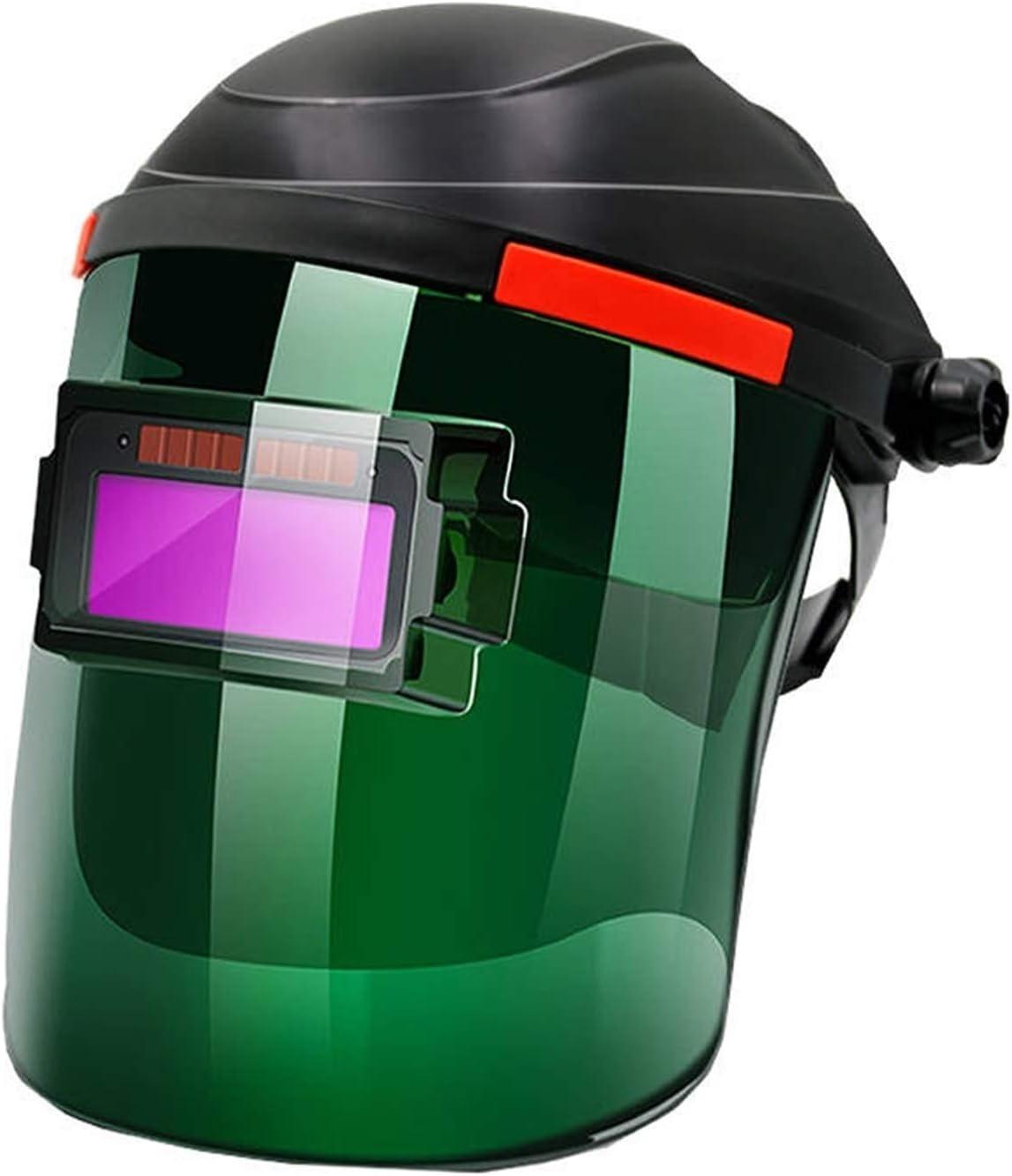 XYJNN Welding Helmet -Welding Large discharge sale mask Automatic Solar Fol Dimming San Jose Mall