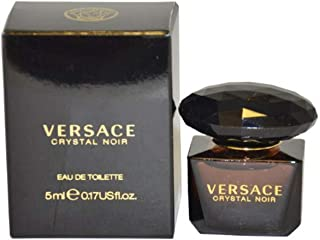 Versace Perfume - Versace Crystal Noir - perfumes for women, 5 ml EDT Splash (Mini)