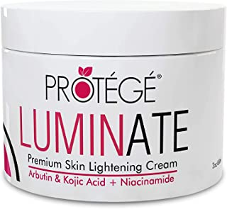 Skin Lightening Cream - Luminate- 100% Natural Skin Bleaching for Underarm, Body, Face, Intimate and Sensitive Areas - Whi...