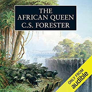 The African Queen audiobook cover art