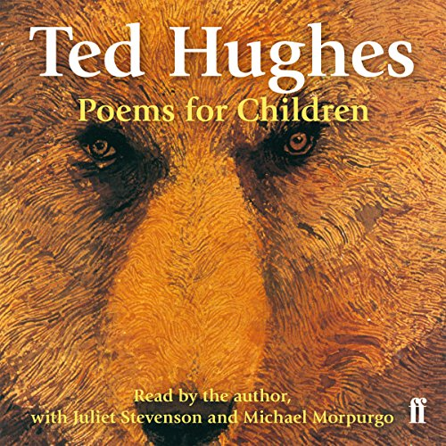 Ted Hughes Poems for Children audiobook cover art