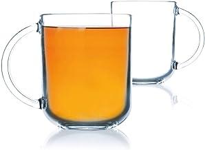 Luminarc Troquet Mug Set, 250 ml, Set of 6,Transparent