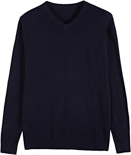 Winter New Knitted Pullover Men Cashmere Sweater Men's Casual V-Collar Sweaters