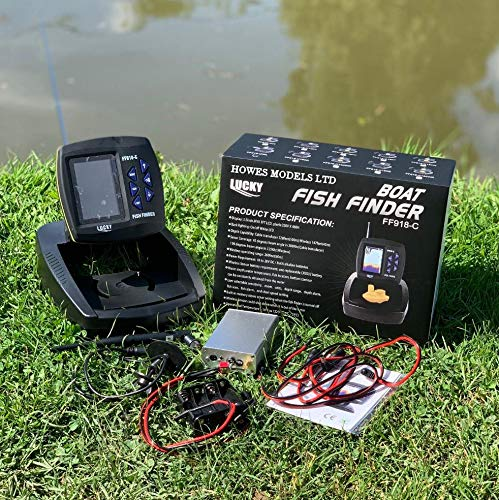 Lucky FF918C Wireless Sonar Colour Fish Finder For Lake Reaper Bait Boats