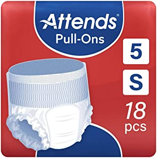 Attends Pull Ons 5, Small, Pack of 18