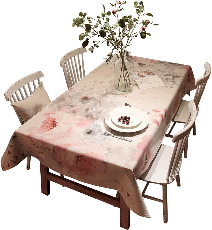 Tischdecke Tuch Digitaldruck Baumwolle und Leinen Esstisch Tisch Tee Tischdecke Rechteckig , 140180cm