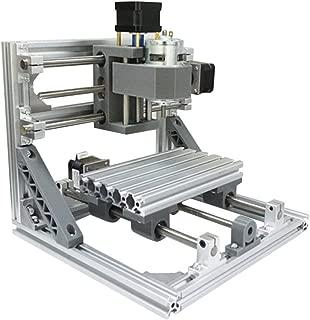 CNC Machine,DIY CNC Router Kits 1610 Control Wood Carving Milling Engraving Machine (Working Area 16x10x4.5cm, 110V-240V,500MW)