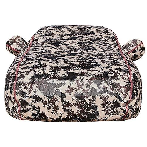 Funda para Coche Cubierta del Coche Compatible con Audi A4 Personalizable Fit Impermeable Al Aire Libre A Prueba de Viento Resistente al Polvo Lluvia Rasguño Nieve Anti-UV (Color : Desert)