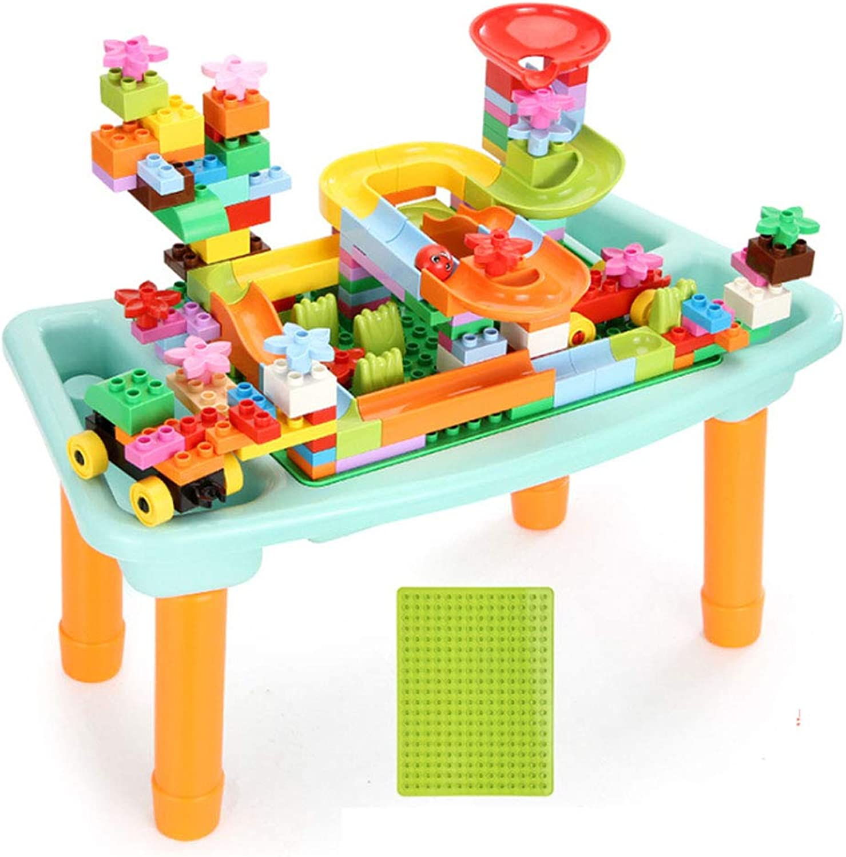 YL-light Bausteinziegelsteine Stadt kreative Spielzeug Tisch mit pdagogisches kompatibel mit Spielzeug für Kinder Geschenke 100-160 groe partikel