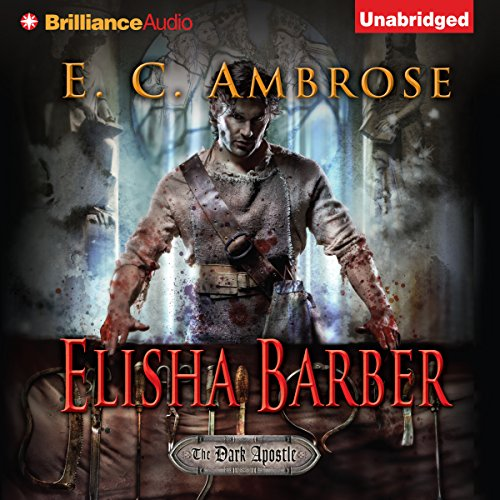 Elisha Barber audiobook cover art