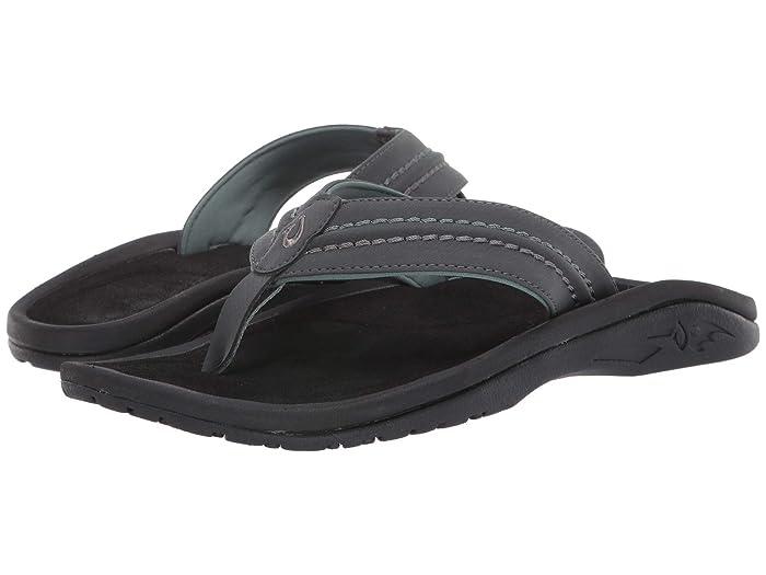 Hokua  Shoes (Dark Shadow/Black) Men's Sandals