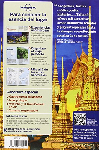 Tailandia 6: 1 (Guías de País Lonely Planet) [Idioma Inglés]