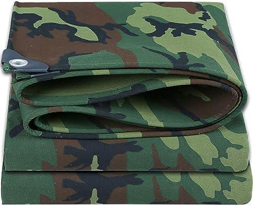 SCJ Bache Camouflage Film Anti-Pluie en Film Plastique Anti-Pluie Prougeection Solaire Anti-poussière extérieur Anti-poussière (LXL  1.8X3.8M) Tentes pour Tente