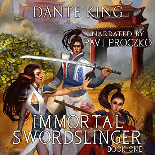 Immortal Swordslinger cover art