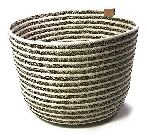 Home Decor - Round Braided Container Selling rankings New products, world's highest quality popular! Decorative Basket Rope