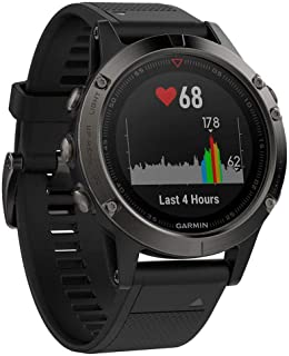 Garmin fēnix 5, Premium and Rugged Multisport GPS Smartwatch, Slate Gray