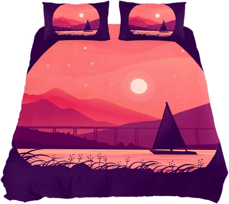 Beach Ocean Baltimore Mall Sheets Pillowcases Bedding Se Sunset service Mountain Boat