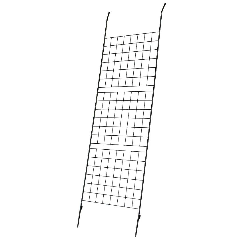 """好き寝る難民アイアン製グリーンカーテン """"Graph""""(グラフ) ハンマートーンシルバー IF-GC014SLV(SST)"""