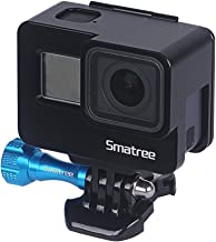 Smatree Frame Mount Housing Case Compatible with GoPro Hero 7/6/5/GOPRO Hero 2018,Aluminum Alloy Protective Shell Case with Plastic Quick Release Buckle