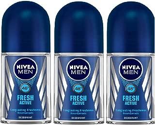 Nivea Fresh Active Roll On, 50ml (Buy 2 Get 1 Free)