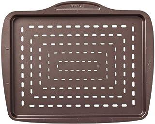 Pyrex Asimetria - Bandeja rectangular de pizza, 37 cm, color