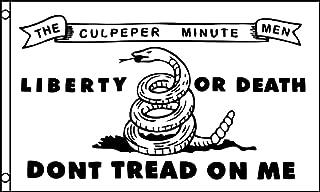 Culpeper Minutemen Flag 3x5ft Poly