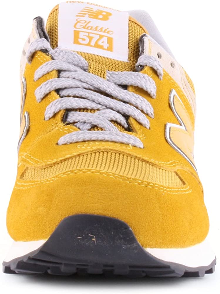 New Balance 574 Baskets pour femme - Jaune - Jaune moutarde, 36 ...