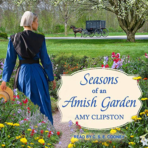 Seasons of an Amish Garden audiobook cover art