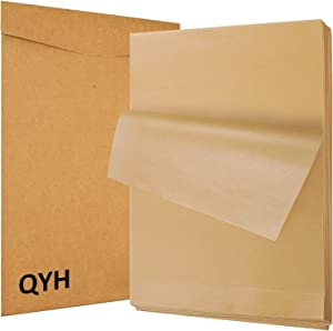 100 Pcs Parchment Paper Sheets for Baking, 8x12 Inches Unbleached Parchment Paper, Precut Parchment Paper for Baking Cookies, Frying, Air Fryer, Cooking, Grilling Rack, Oven