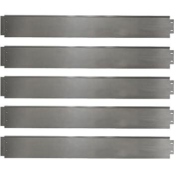 Rasenkante 5m 10m 15m 20m 30m 40m 50m 100x14cm oder 100x18cm verzinkt Beeteinfassung Beetumrandung Mähkante Metall Palisade (Länge 5m - Höhe 14cm)