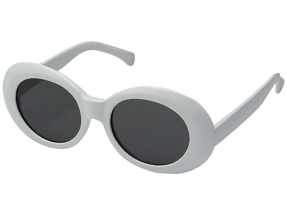 Steve Madden Madden Girl MG893120 (White) Fashion Sunglasses