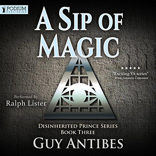 A Sip of Magic audiobook cover art