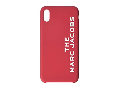 Marc Jacobs Silicone iPhone XS Max Case (Red) Cell Phone Case