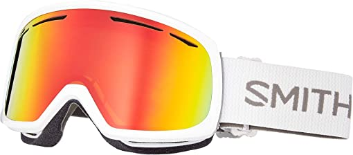White/Red Sol-X Mirror/Extra Lens Not Included