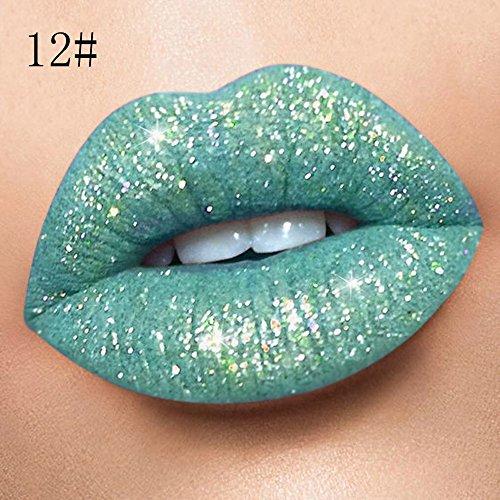 GOKOMO Wasserdicht langlebig flüssig samt matte lippenstift make-up lipgloss lipMatt Perlmutt...